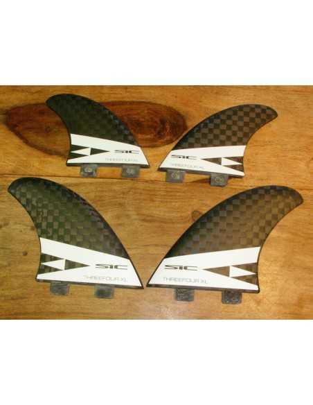 SIC Maui ThreeFour Carbon Quad/Tri Fin XL