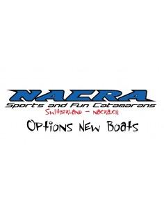 Nacra F16 Dérives Courbe en remplacement des Droites