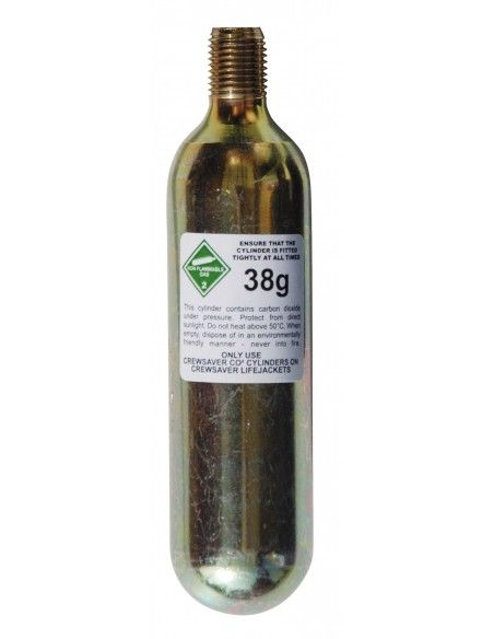 Crewsaver Automatic CO2 38g Cylinders