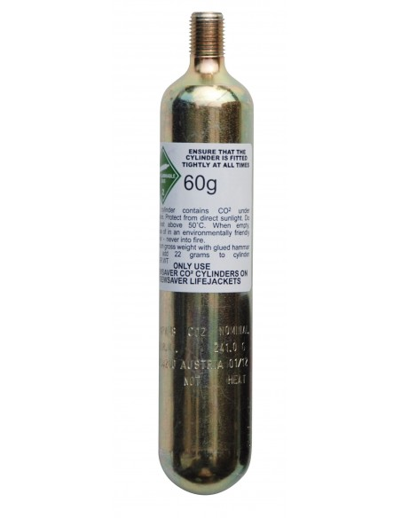 Crewsaver Automatic CO2 60g Cylinders