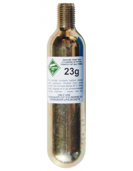 Crewsaver Automatic CO2 23g Cylinders