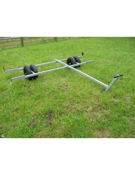 Scale Aluminium Ladder Trolley for Small Catamaran 250cm