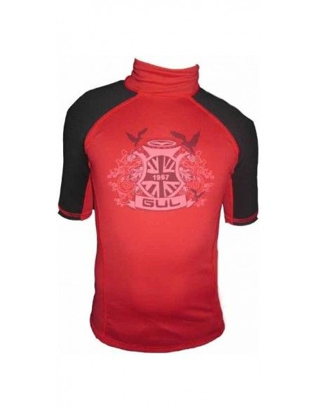 Gul Boys Rash Guard Crest Short Sleeves