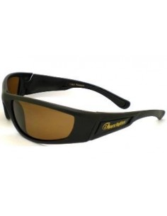 Barz Optics Fraser Matt Black AC Polarised Amber