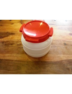 Container in polyethylene
