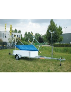 Pega CK750 650 Catamaran Trailer Exclusive