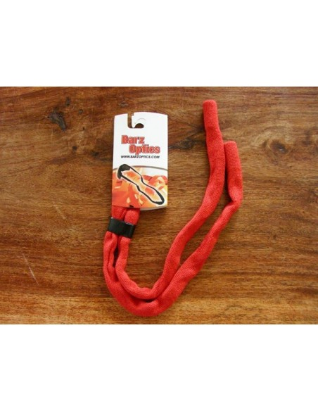 Barz Red Fabric Sunglass Retainer - Spec Savers