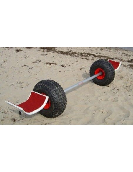 CadKat EuroTrax Clamp Beachwheels 21*12 Catamarans Trolley
