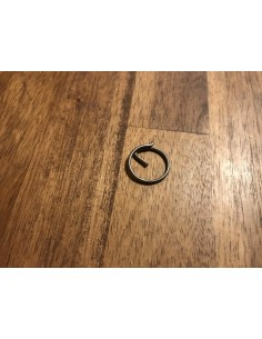 Blue Wave Split Ring 11.5*1mm