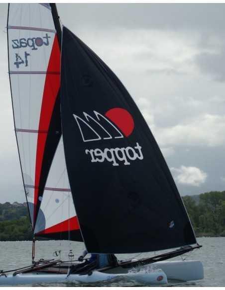 Topper Topaz 14 Catamaran Spinnaker