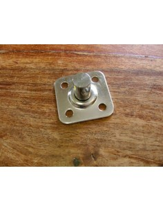 Fixed Swivel Plate Stainless Steel 30mm