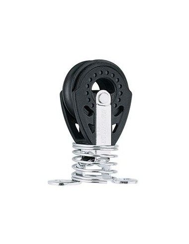Harken Carbo Poulie 29mm Simple sur pontet et Ressort