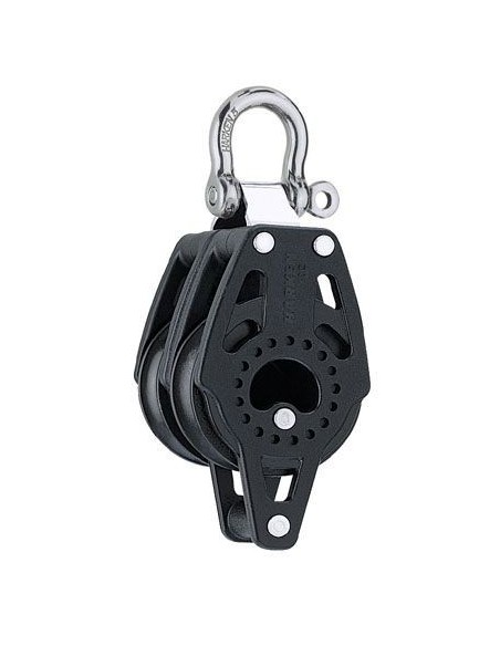 Harken Carbo 40mm Double Fixed w/becket Block