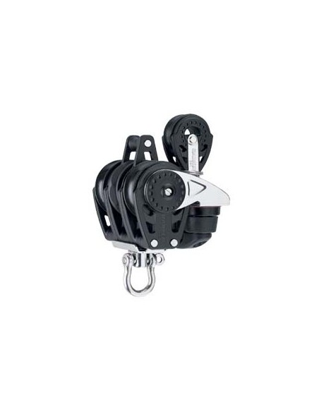 Harken Carbo 40mm Triple 432 Carbo-Cam, Simple Bloc and Becket