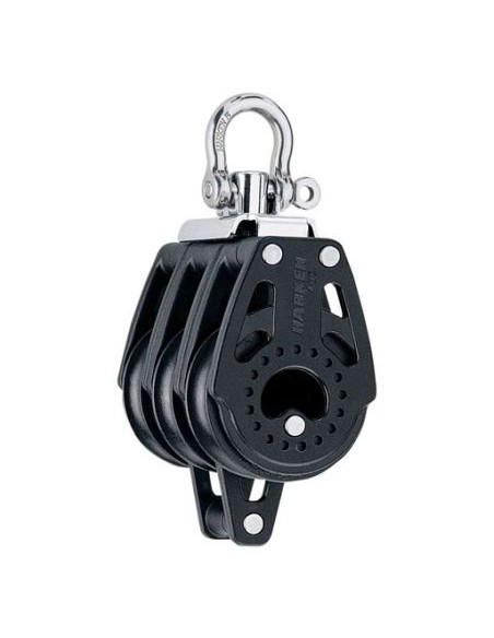 Harken Carbo 40mm Triple Swivel Becket Block