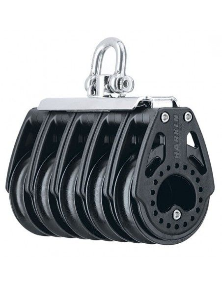 Harken Carbo 57mm Quintuple Swivel 10:1 System