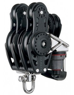 Harken Carbo 57mm Ratchamatic 6 blocks Bottom 12:1