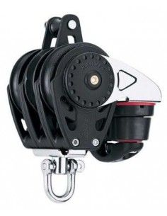 Harken Carbo Poulie 57mm Triple Ratchamatic avec Ringot