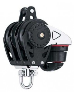 Harken Carbo 57mm Triple Ratchamatic w/Cam, Becket Block