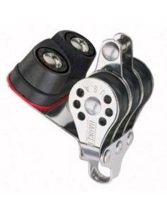 Harken Micro 22mm Triple Becket Block with Carbo-Cam 423