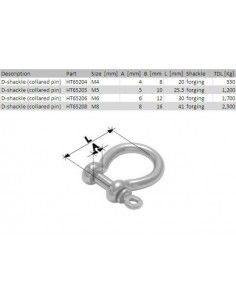 Holt Shackle Bow 4mm
