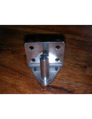 Transom Pintle Stainless Steel 10mm ø, 35mm high