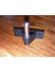 Transom Pintle Stainless Steel 10mm, 44mm high
