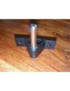 Transom Pintle Stainless Steel 10mm, 53mm high