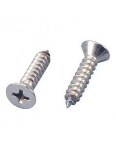 Stainless Steel Screws 4.8mm 50mm Flat Head