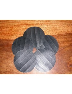 Spinnaker Repair Patches Black 2.8cm