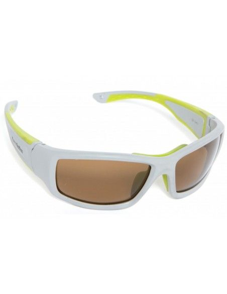 Barz Optics Floater Grey Appel Green PO Polarized Amber