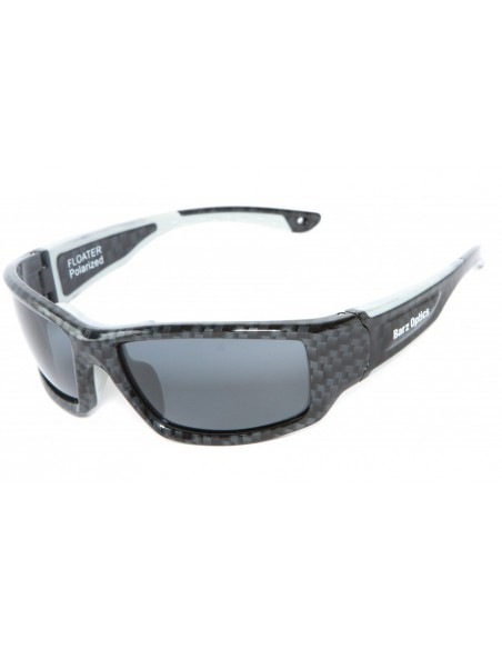 Barz Optics Floater Noir PO Polarisée Grise