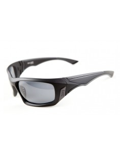 Barz Optics San Juan Black Polycarb. Photo. Polarised (Melanin infused) Grey