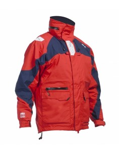 Gul Vigo Coastal Jacket Mens Rouge Navy