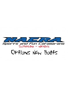 Nacra Out Kickers On Trampoline Option