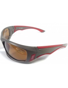 Barz Optics San Juan Grey Red Photochromic Polarised Melanin infused